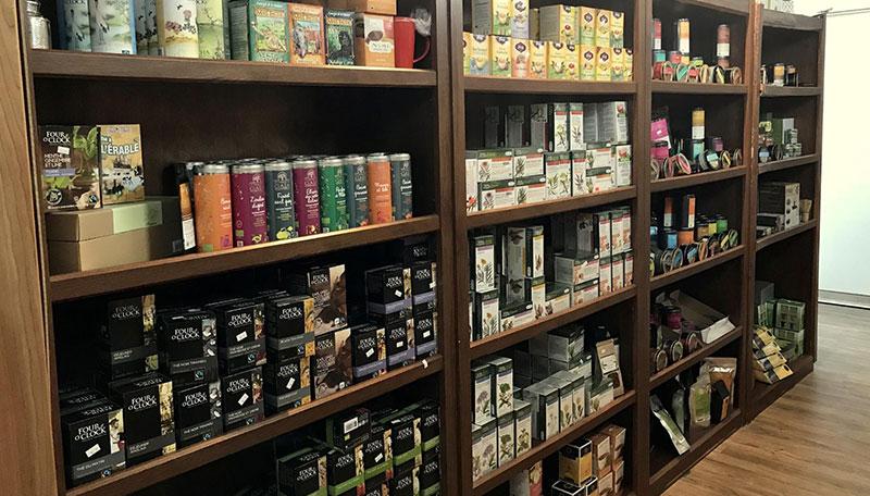 sélection de thés et thé zyo